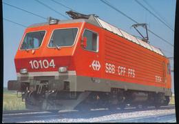 SBB  CFF -- Re 4/4 IV 10104 -- 1982 - Eisenbahnen
