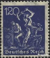 Allemand Empire 188 Avec Charnière 1921 Filigrane Gaufres - Deutschland
