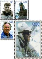 Ref. 226461 * NEW *  - TOKELAU . 2008. SIR EDMUND HILLARY. SIR EDMUND HILLARY - Tokelau