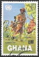 1984 Nambia Day, Used - Ghana (1957-...)