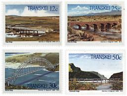 Ref. 59238 * NEW *  - TRANSKEI . 1985. TRANSKEI BRIDGES. PUENTES DE TRANSKEI - Transkei