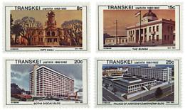 Ref. 42409 * NEW *  - TRANSKEI . 1982. CENTENARY OF THE MUNICIPALITY OF UMTATA. CENTENARIO DE LA MUNICIPALIDAD DE UMTATA - Transkei