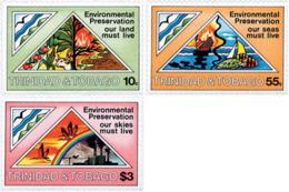 Ref. 40105 * NEW *  - TRINIDAD AND TOBAGO . 1981. ENVIRONMENT PROTECTION. PROTECCION DEL MEDIO AMBIENTE - Trinidad & Tobago (1962-...)