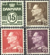 Denmark 410x,411x-412x,416 (complete Issue) Unmounted Mint / Never Hinged 1963 Clear Brands - Danimarca