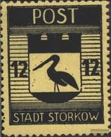 Storkow (Mark) 14A Con Fold 1946 City Arms - [7] Repubblica Federale