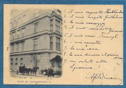 WIEN IX LIECHTENSTEINSTRASSE 1902 - Kirchen
