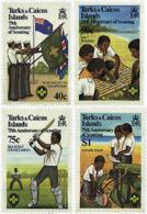 Ref. 52642 * NEW *  - TURKS AND CAICOS Islands . 1982. 75th ANNIVERSARY OF THE SCOUTS. 75 ANIVERSARIO DEL ESCULTISMO - Turcas Y Caicos