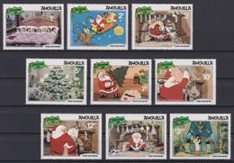 2428  Walt Disney  Antiguilla  ( Christmas 1981 ) The Night Before Christmas . - Disney