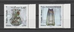 FRANCE / 2018 / Y&T N° ?2018/11/12 ** : France-Croatie (Gallé & Krasnik) BdF D - Gomme D'origine Intacte - Frankreich
