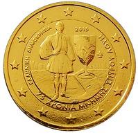 GRECE 2015  - 2 EUROS COMMEMORATIVE - SPYRIDON LOUIS - PLAQUE OR - Grèce