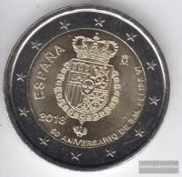 Spain 2018 Stgl./unzirkuliert Reprint: 400.000 Stgl./unzirkuliert 2018 2 Euro King Felipe VI. - Spain