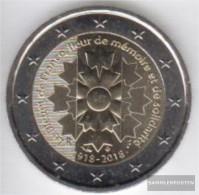 France 2018 Stgl./unzirkuliert Reprint: 15 Million. Stgl./unzirkuliert 2018 2 Euro Kornblume France - France