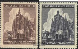 Bohemia And Moravia 140-141 (complete Issue) Unmounted Mint / Never Hinged 1944 Smetana - Bohemia & Moravia