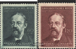 Bohemia And Moravia 138-139 (complete Issue) Unmounted Mint / Never Hinged 1944 Smetana - Bohemia & Moravia