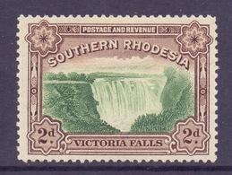 Southern Rhodesia Scott 37b - SG35, 1935 Victoria Falls 2d Perf 12.1/2 MH* - Rhodésie Du Sud (...-1964)