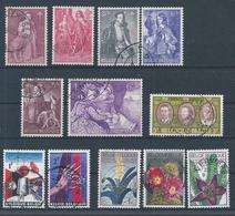 1306+1307/12+1313/14+1315/17  Oblitérations Choisies  Cote 3.40 - Belgium