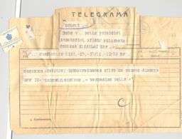 TELEGRAPH, TELEGRAMME SENT FROM CONSTANTA TO BUCHAREST, 1937, ROMANIA - Télégraphes