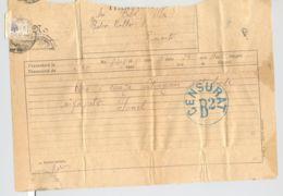 TELEGRAPH, CENSORED BUCHAREST NR 2 TELEGRAMME SENT FROM IASI TO BUCHAREST, 1936, ROMANIA - Telegraphenmarken