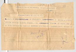 TELEGRAPH, TELEGRAMME SENT FROM DRAGOMIRESTI TO BUCHAREST, ROMANIA - Télégraphes