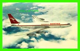 AVIONS - QANTAS AIRWAYS - QANTAS BOEING 707 - WRITTEN - - 1946-....: Ere Moderne