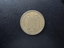 ESPAGNE : 1 PESETA   1944   KM 767      TTB - [ 4] 1939-1947 : Gouv. Nationaliste