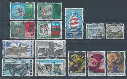 1456/60+1461/62+1463/65+1466/69  Oblitérations Choisies  Cote 6.10 - Belgium