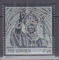 B0027 - GAMBIA Yv N°4436 ** PAPE JEAN PAUL II - Gambie (1965-...)