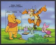 2431  Walt Disney  Antigua & Barbuda  1998 - Winnie The Pooh And Friends Over The Seasons . - Disney