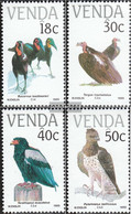 South Africa - Venda 191-194 (complete Issue) Unmounted Mint / Never Hinged 1989 Birds - Venda