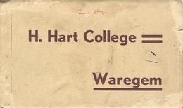 Waregem Mapje Met 9 Postkaarten H. Hart College - Waregem