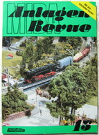 Anlage Nach Pit-Peg MIBA Anlagen Revue 15 1987 Modellbahn Ratgeber - Books And Magazines