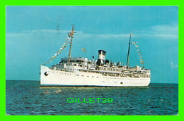 BATEAUX, SHIPS - S. S. YARMOUTH - TRAVEL - - Paquebots