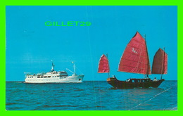 BATEAUX, SHIPS - M/S GRAND BAHAMA - TRAVEL IN 1974 - - Paquebots