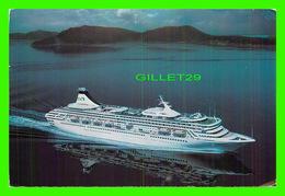 BATEAUX, SHIPS - ROYAL PRINCESS - PRINCESS CRUISES - TRAVEL IN 1987 - - Paquebots