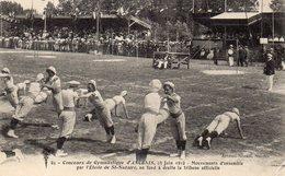 ANCENIS  - Concours De Gymnastique 23 Juin 1912 - Mouvements D'ensemble Par L'Etoile De St Nazaire... - Ancenis