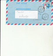 L1 - Aérogramme Posté à SAINT BENOIT  - Réunion - Postal Stamped Stationery