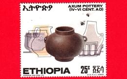 ETIOPIA - Usato - 1970 - Antiche Ceramiche Etiopi - Vasi - Brocca - 25 - Etiopia