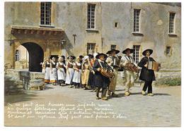 """18 - Réalisé Avec Le Concours Du Groupe Folklorique """"Les Galvachers Du Morvan"""" - Vielle Et Accordéon - Autres Communes"""