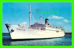 BATEAUX, SHIPS - S/S BAHAMA STAR - EASTERN STEAMSHIP CORP - TRAVEL - - Paquebots
