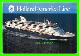 BATEAUX, SHIPS - M/S STATENDAM - HOLLAND AMERICA LINE - - Paquebots