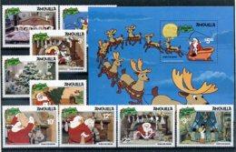 A23271)Disney: Anguilla 451 - 459** + Bl 40** - Disney