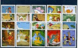 A23282)Disney: Fujeira 1490 - 1509 A** - Disney