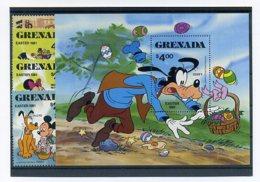 A23286)Disney: Grenada 1086 - 1089** + Bl 94** - Disney