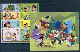 A23296)Disney: Lesotho 402 - 409 Paare** + Bl 16** - Disney