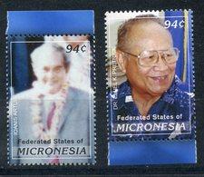 Y85 MICRONESIA 2008 1909-1910 Micronesian Leaders. Ioannis Arthui. Dr. Eluel C. Pretrick - Micronésie