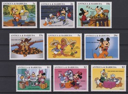 2434  Walt Disney  Antigua & Barbuda - 1997 - Mickey And His Friends Drawings Of Walt Disney Productions . - Disney