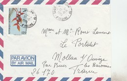 COTE D IVOIRE - YT 675A SEUL SUR LETTRE AVION ABIDJAN 30/10/85 POUR FRANCE - Ivory Coast (1960-...)