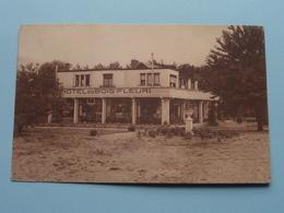 """Hotel-Restaurant Le """" BOIS FLEURI """" Keerbergen ( Thill ) Anno 19?? ( Zie Foto's Voor Detail ) ! - Keerbergen"""