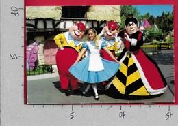 CARTOLINA VG STATI UNITI - WALT DISNEY DISNEYLAND - Wonderland In Fantasyland - 10 X 15 - ANN. 1993 - Disneyland