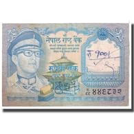 Billet, Népal, 1 Rupee, 1974, KM:22, B - Népal